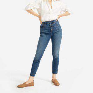 EVERLANE Stretch High Rise Skinny Jean Size 27